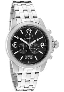 Men's Specialty Chronograph Black Dial Stainless Steel -