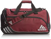adidas Team Speed Medium Duffel Bag, Light Maroon/Black