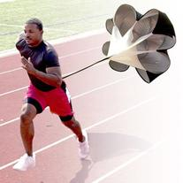 "56"" Speed Resistance Training Parachute Running Chute"