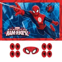 Spider-Man Party Game, Pin The Emblem to The Spidey Suit,
