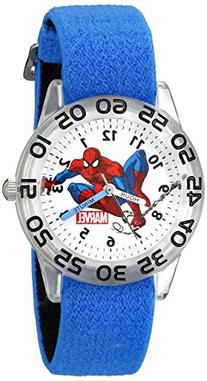 Marvel Kids' W002591 Spider-Man Time Teacher Analog Display