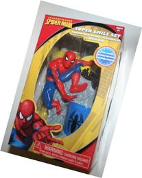 Marvel Spider-Man Great Smile Kids Toothbrush & Holder Rinse