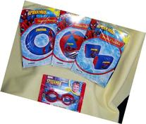 Spiderman Swim Ring & Arm Floats & Beach Ball && Goggles