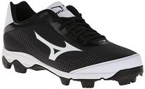 Mizuno Men's 9-Spike Franchise 7 Low Baseball Cleat,Black/