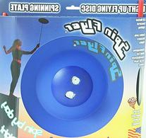 Spin Flyer Spinning Plate/Disc - Lights Up with LED Motion