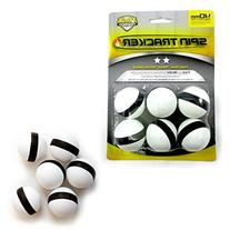 6 Pack Spin Tracker Ping Pong Balls 40mm Regulation Size 2