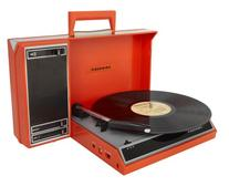 Crosley CR6016A-RE Spinnerette Portable USB Turntable with