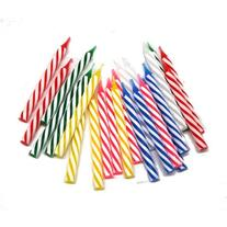 Spiral Birthday Candles : package of 24