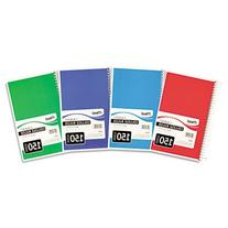 Spiral Bound Notebook, Perforated, College Rule, 10.5 x 7.5