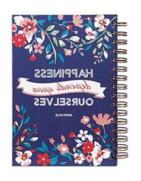 C.R. Gibson Spiral Bound Journal, 160 Lightly Ruled Pages,