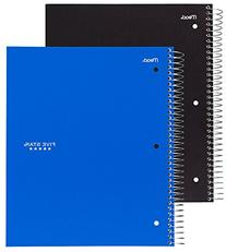 Five Star Spiral Notebook, 5 Subject, College Ruled, 200