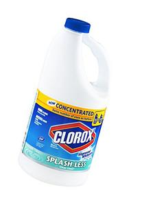 Clorox Splash-Less Scented Bleach, Concentrated Clean Linen