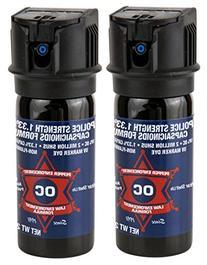 Pepper Enforcement  Splatter Stream Police Grade 10% OC