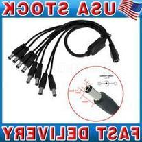 8 WAY Splitter for CCTV Cameras 2.1mm