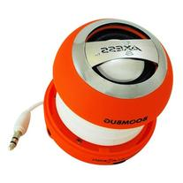 Axess SPLW11-9 Boombug Wired Mini Portable Speaker with