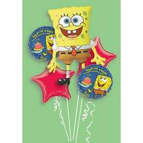 SpongeBob Balloon Bouquet - Party Supplies by Anagram