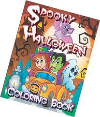 Spooky Halloween Coloring Book
