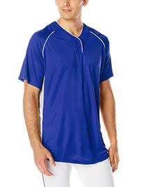 Wilson Sporting Goods Double Bar Mesh 2-Button Jersey, Youth