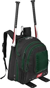 Rawlings Players Bkpk Bat Packs Green/Black