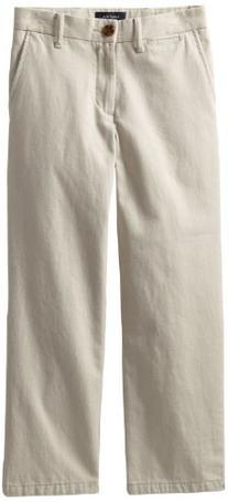 Nautica Sportswear Kids Big Boys' Flat Front Twill Pant,