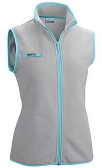 Columbia Women's Harborside Fleece Vest, Cool Grey/Heather,