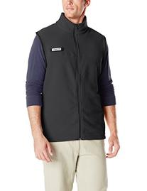 Columbia Men's Harborside Fleece Vest, Cool Grey/Heather, XX