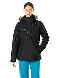 Columbia Women's Lhotse Interchange Jacket, Black, X-Large