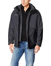 Columbia Men's Powderkeg Interchange Jacket, Collegiate Navy