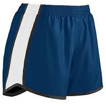 Augusta Sportswear Girls pulse team short - DARK GREEN/WHITE