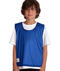Badger Sportswear Youth Lacrosse Reversible Tank, Navy/