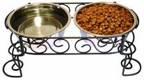Spot Mediteranean Stainless Steel Double Diner, 3 Qt