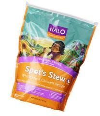 Halo Natural Dry Dog Food, Small Breed Chicken & Chicken