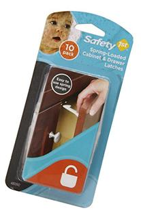 Safety 1st Spring n' Release Latches, 10 Pack