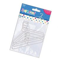Springfield Collection Clothes Hangers 4/Pkg-White Plastic