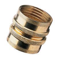 Nelson Sprinkler 50574 3/4 in Double Female Brass Pipe