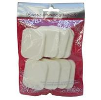 Swissco Square Cosmetic Sponge 8-Count 2 Packs