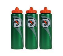 3 X Gatorade 32 ounce Squeeze Bottle