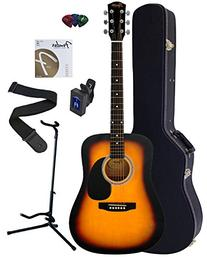 Fender Squier Dreadnought Acoustic Guitar Bundle with