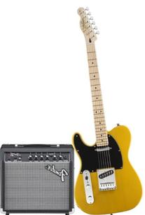Squier by Fender Affinity Tele Beginner Electric Guitar Pack
