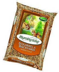 Morning Song Squirrel and Backyard Wildlife Food, 20-Pound