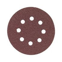Bosch SR5R062 5 in. 8-Hole Red 60 Grit Hook and Loop Sanding