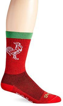 SockGuy Sriracha Wool Crew Socks One Color, L/XL - Men's