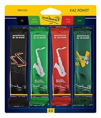 Vandoren SRMIXT35 Tenor Sax Jazz Reed Mix Card includes 1