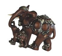 George S. Chen Imports SS-G-88102, Thai Elephant with Baby