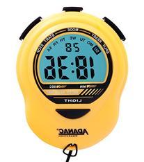 MARATHON ST083013YE Adanac Digital Glow Stopwatch Timer -