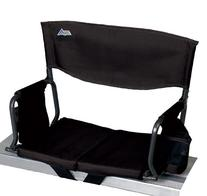 Rio Adventure Stadium Arm Chair, Black