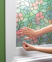 Stained Glass Self-adhesive Window Privacy Film