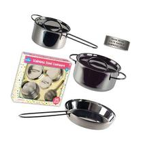 Children's Stainless Steel Cookware Set 5 Pc. Gift Set