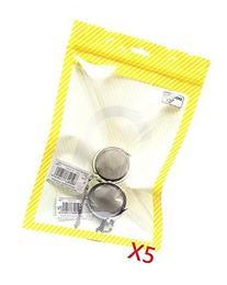 10 X Qzoxx Stainless Steel Mesh Tea Balls by Qzoxx