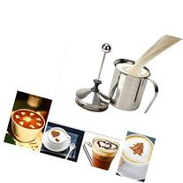 400ml Stainless Steel Milk Frother Cappuccino Coffee Frother